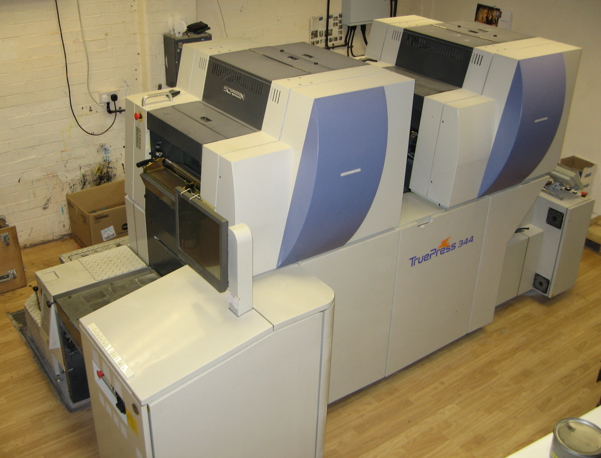 Screen  Truepress 344 digital press 2005
