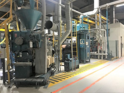 CPP production line Davis Standard