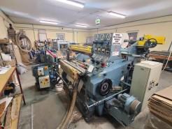 La Meccanica machine for reels manufacturing Fumagalli