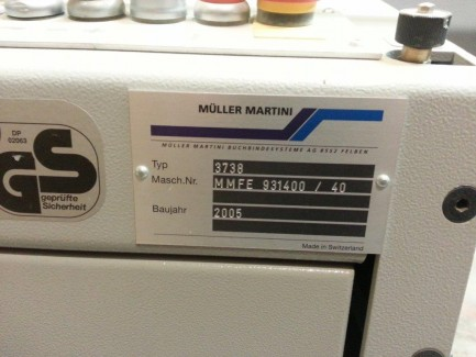 3738 Muller Martini