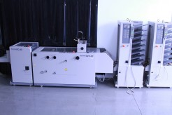 Horizon Twin Tower MC80 with SPF20 and FC20 Bookletmaker and Trimmer Horizon