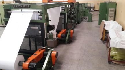 280F rulling machine E C H Willl