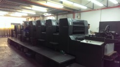 Sm74-5 High Pile with Coated Heidelberg