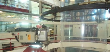 MK.2 EXTRUSION LINE FOR THE PRODUCTION OF 3-LAYER BLOWN FILM Macchi