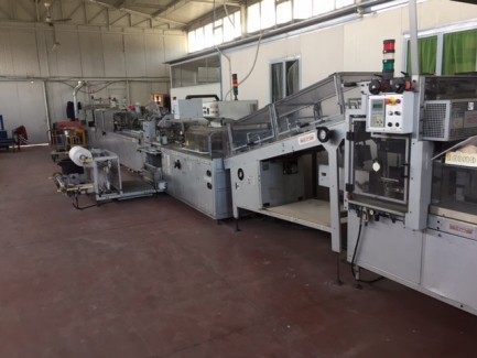 c-80-750 Shrink wrapping machine Sitma