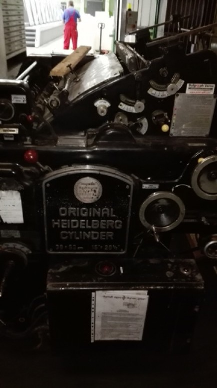 Cylinder Heidelberg